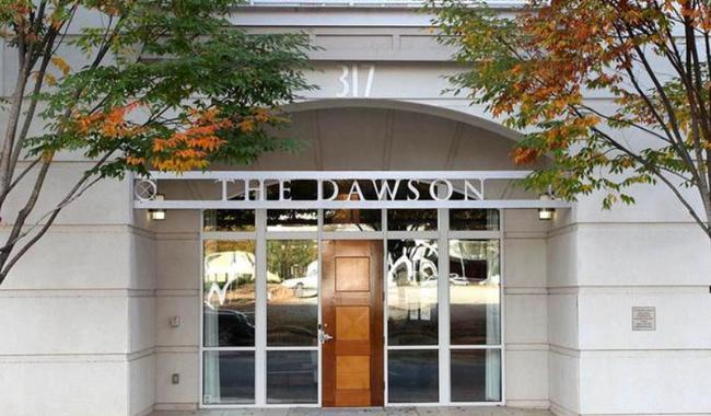 The Dawson on Morgan, Raleigh NC Entrance Door